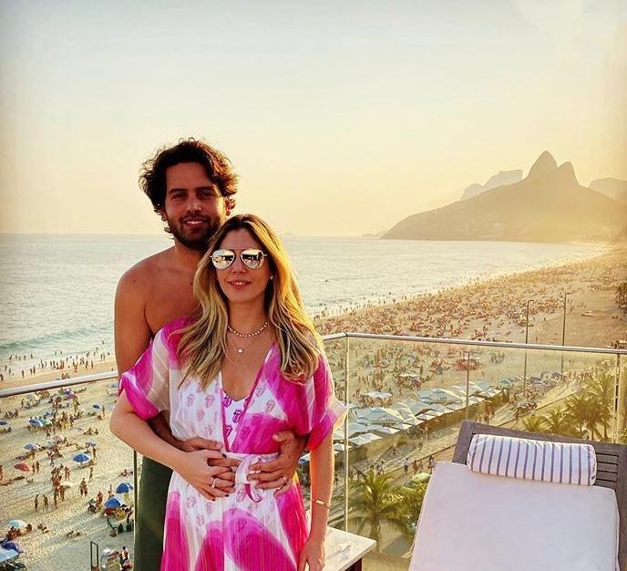 Beatriz Rolim e Igor Araripe curtem dias de relax no Fasano Rio de Janeiro