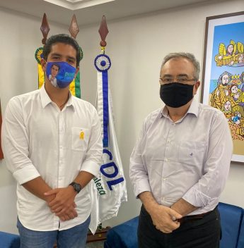 Pedro França se reúne com Assis Cavalcante e apresenta propostas de incentivo à capacitação e empreendedorismo