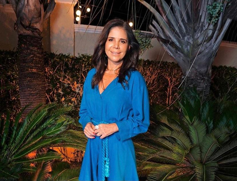 Maria Lúcia Negrão pilota mais um happening da Lenita em seu elegante endereço