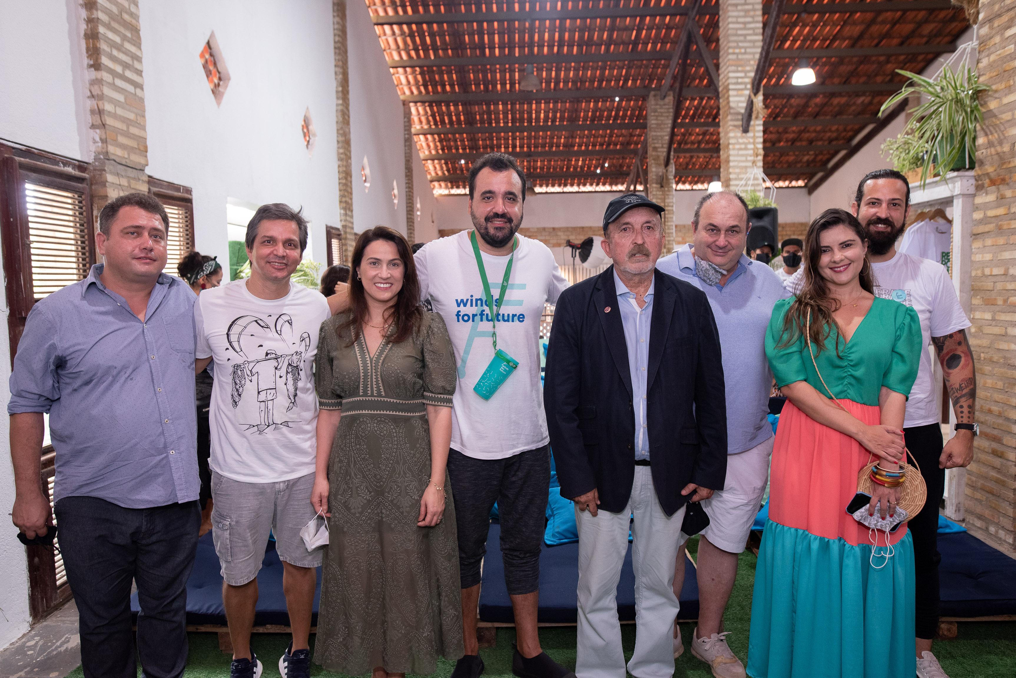 Winds For Future lança Hub de Inovação Ecosocial Brasileiro na Praia de Cumbuco