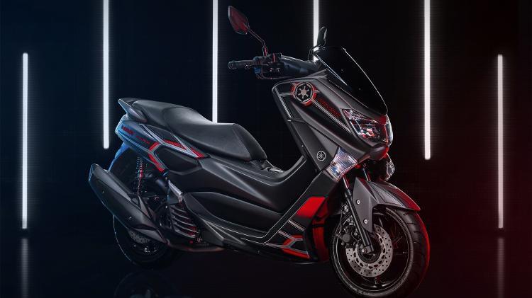 Com edição limitada, Yamaha lança no mercado scooter NMax 160 Star Wars