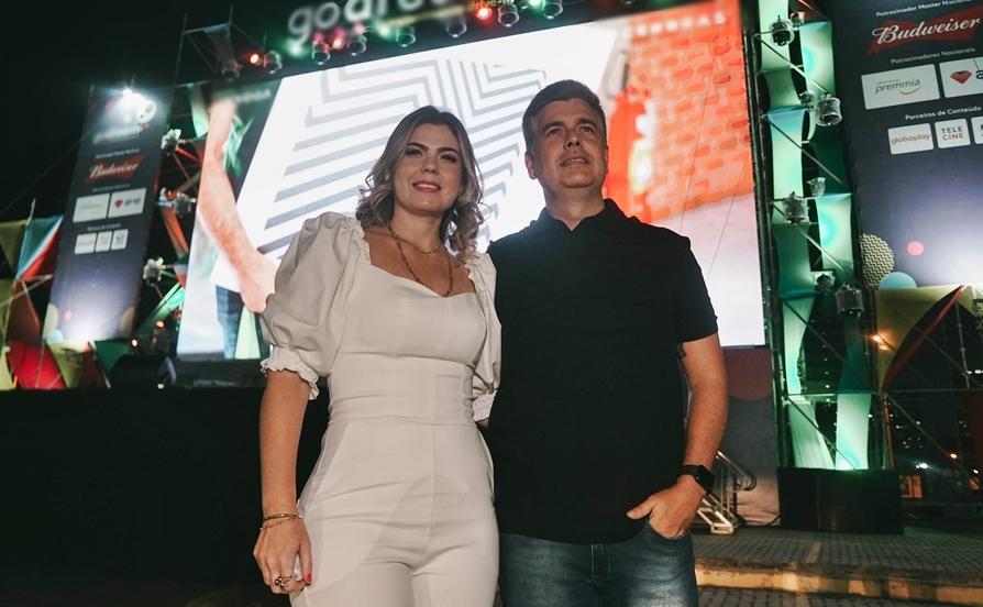 Liliane Meira realiza o primeiro evento drive-in da Galpão D