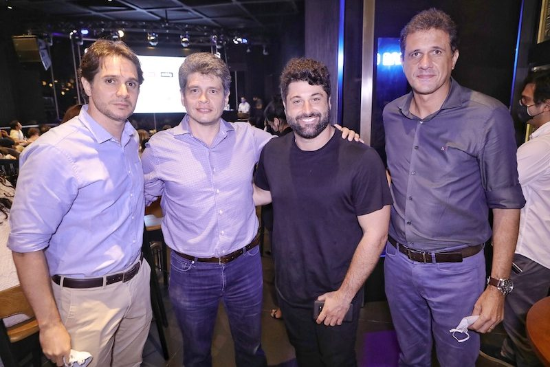 Benjamim Oliveira, Fabrício Cavalcante, Alfredo Soares e Wellington Oliveira