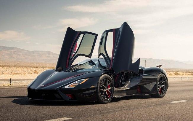Carro esportivo atinge 508,73 km/h e é o de produção mais veloz do mundo