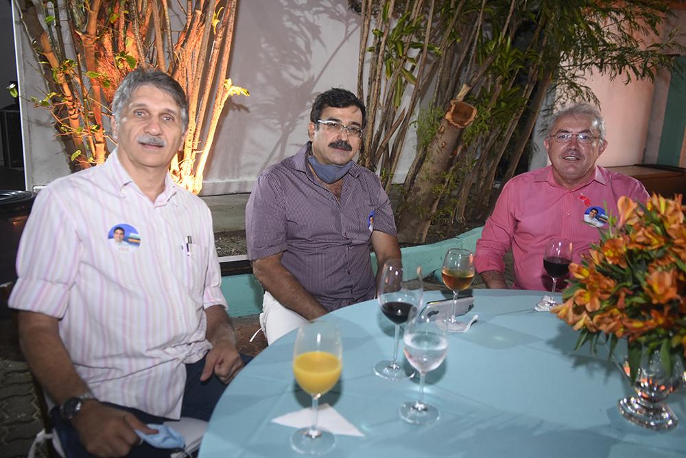 Albery Dias, Paulo Guedes E Paulo Pimenta