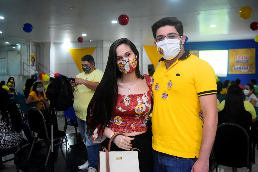 Ana Sofia Cavalcante E Pedro Victor
