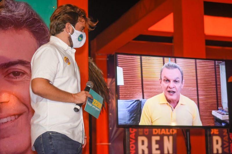 Corrida Eleitoral - Cláudio Nelson promove ato de apoio à campanha de Sarto na Praia do Futuro