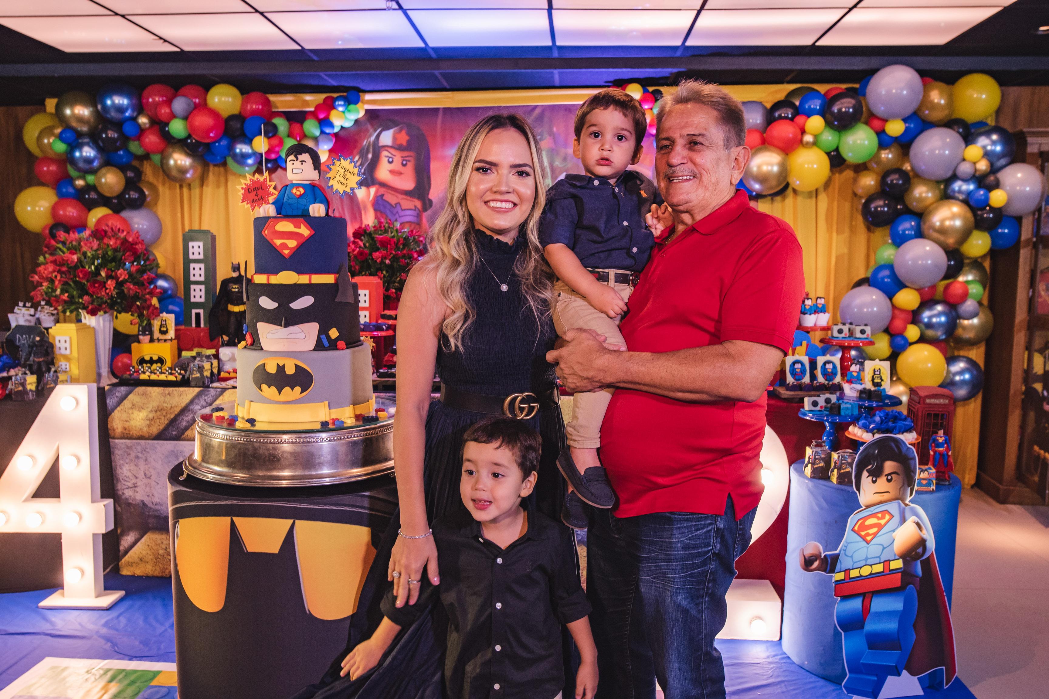 Comemoração em dose dupla marca a nova idade dos filhos de Bárbara e Eugênio Rabelo