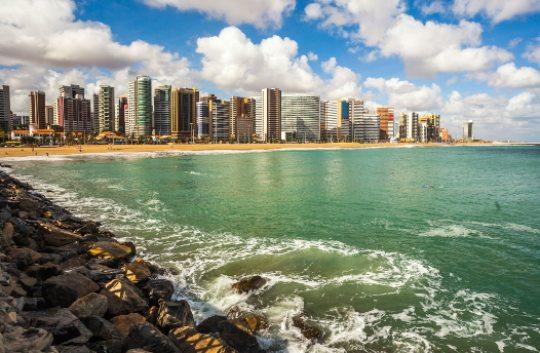 Fortaleza lidera o raking das cidades mais procuradas para turismo em 2021