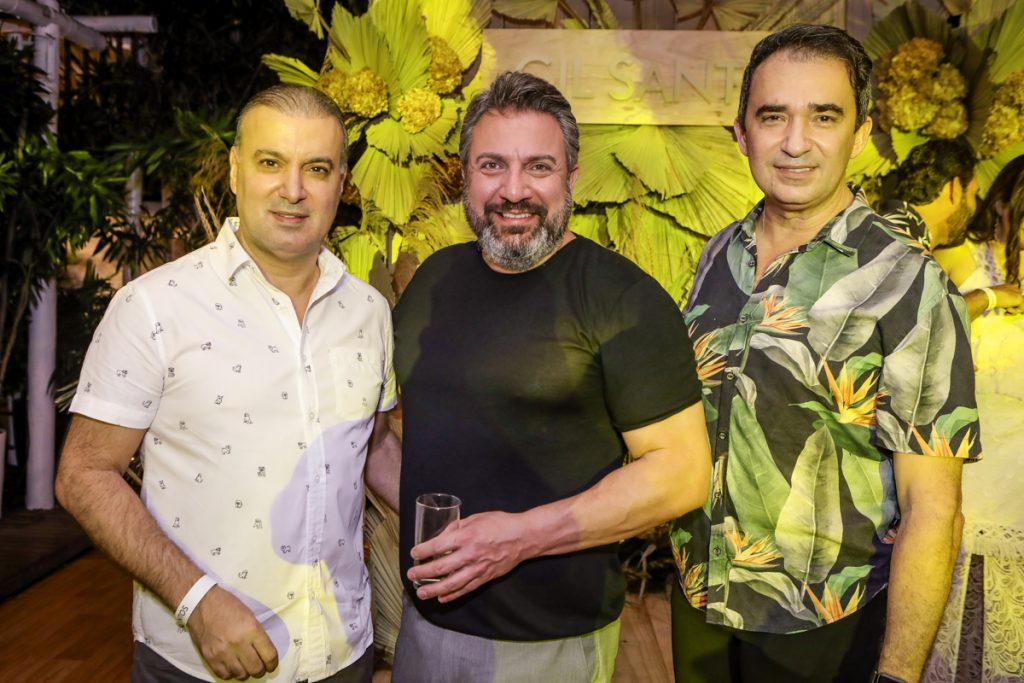 Bira Bazani, Sergio Garcia E Rosalvo Pontes