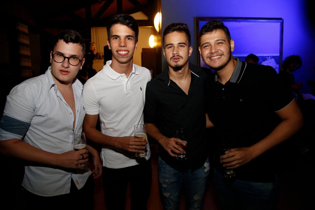 Breno Queiroz, Filipe Rolim, Joao Vitor E Alvaro Girao