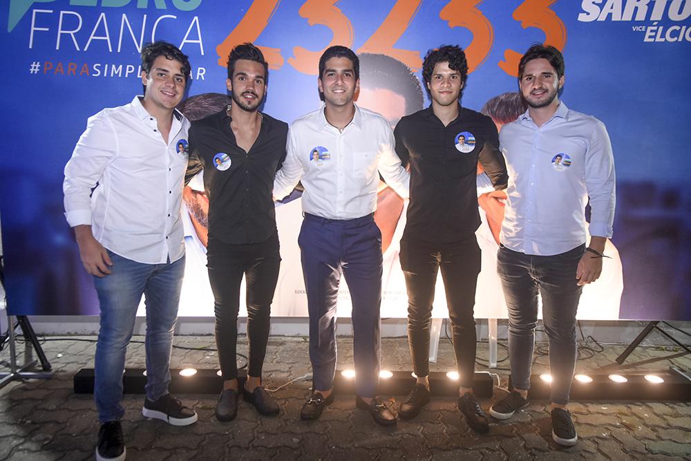 Bruno Lima, Gustavo Neves, Pedro França, Ivan Filho E João Mathues