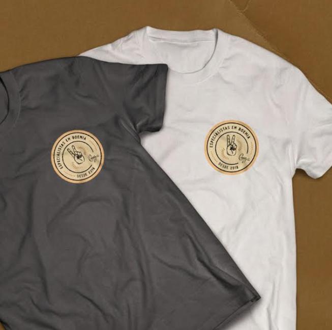 Festejando seus dois anos, Giz Cozinha Boêmia lança t-shirt comemorativa