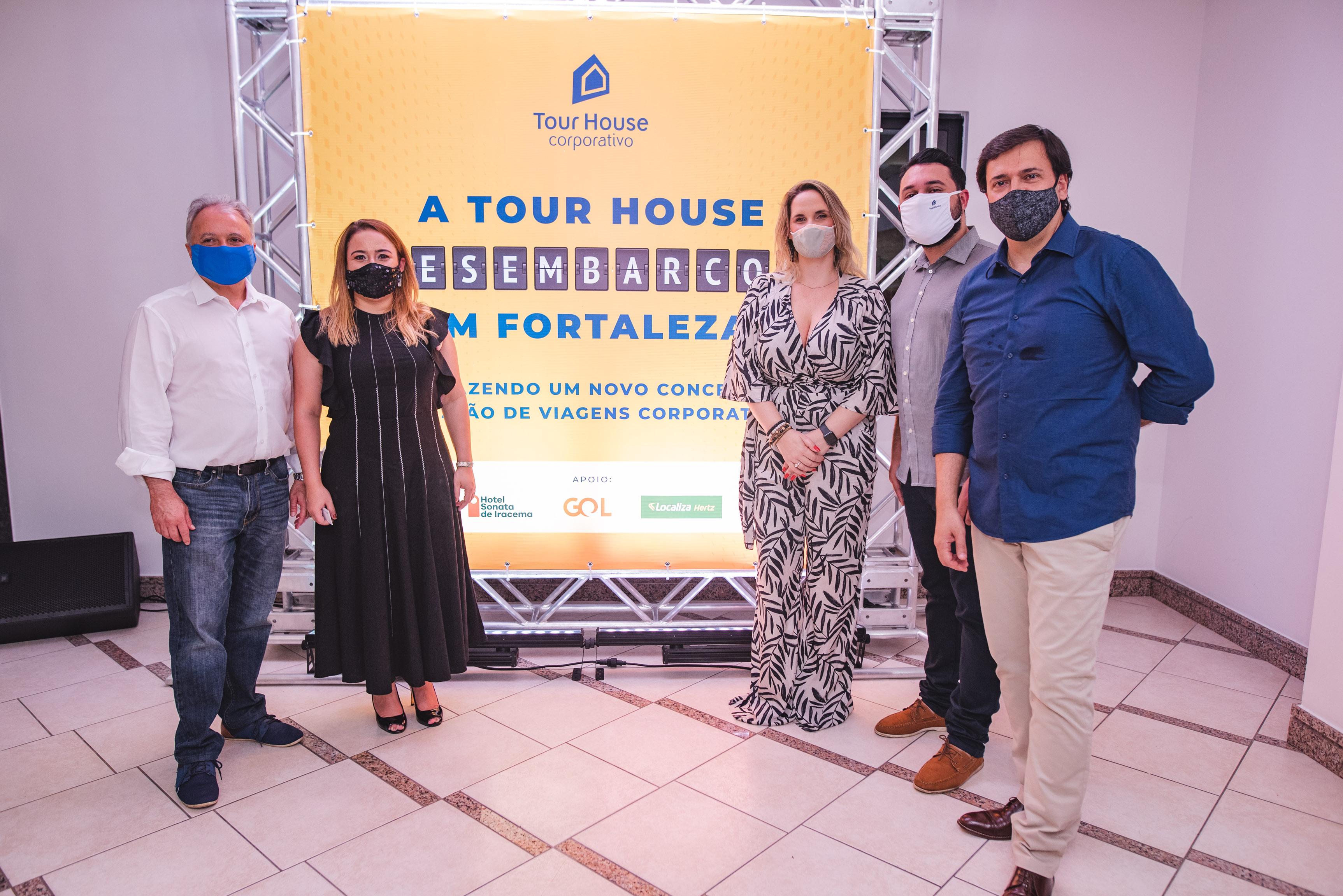 Carlos Prado, Camila Fernandes, Alexandra Bosschart, Vinicius Goncalves E Alexandre Motta