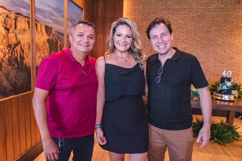 Carlos Ramos, Rachel Fortes E Danilo Cavalcante