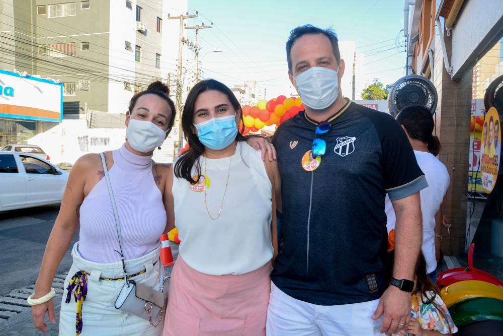 Carol Mota, Juliana Silveira E Edler Campos