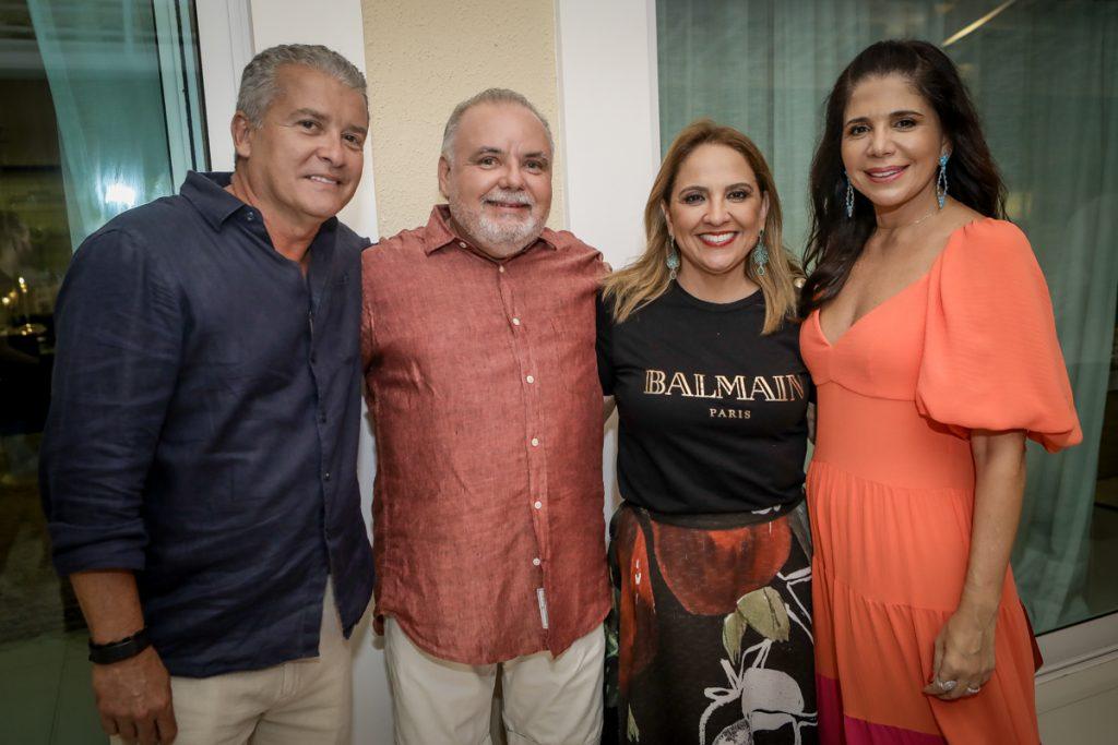 Celio Thomaz, Pedro Carapeba, Liana Thomaz E Maria Lucia Carapeba