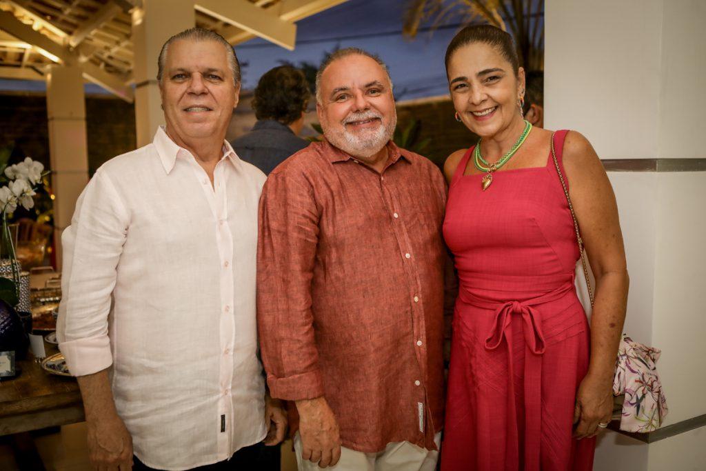 Claudio Studart, Pedro Carapeba E Giana Studart