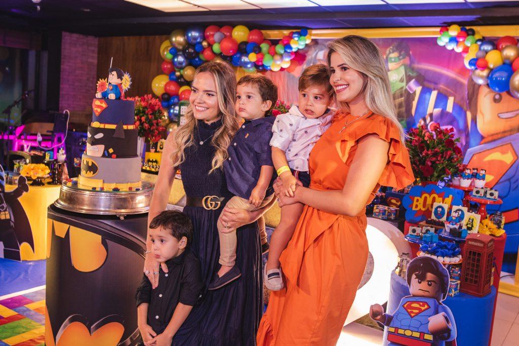 Davi, Barbara, Eugenio Filho, Lorenzo E Jessica Rabelo
