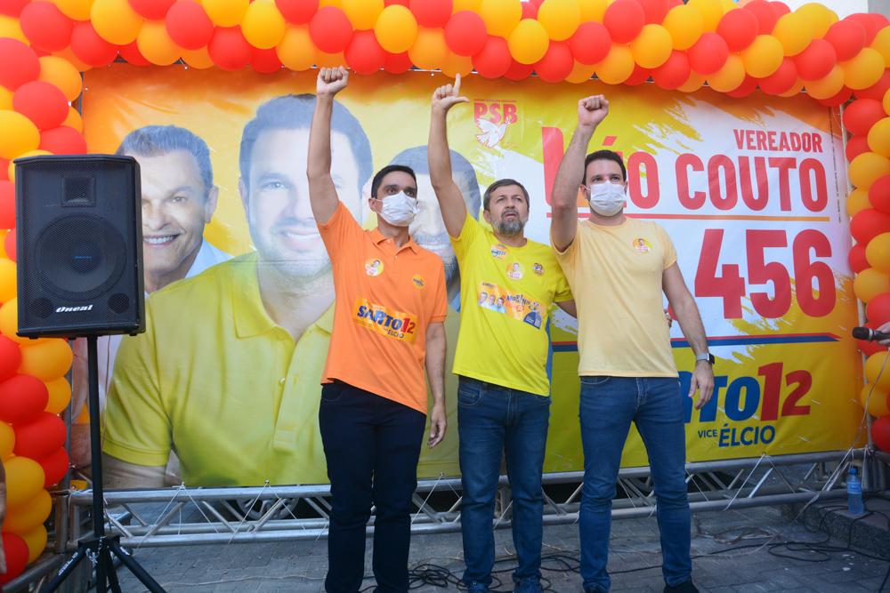 Denis Bezerra, Élcio Batista E Léo Couto (4)
