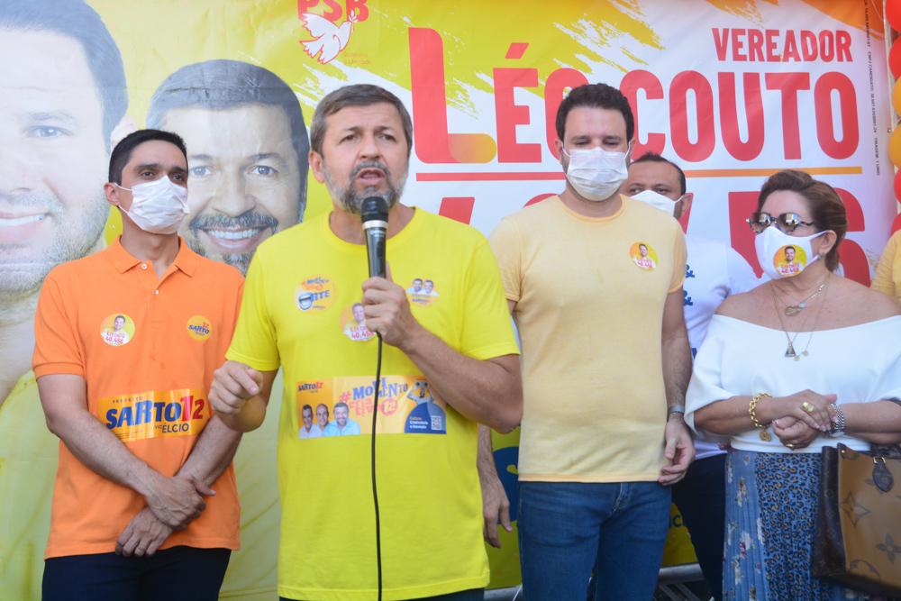 Denis Bezerra, Élcio Batista, Léo Couto E Marta Peixe (2)