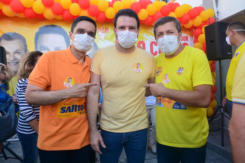 Léo Couto reúne eleitores e apoiadores para a inauguração da Central de Ideias SEL