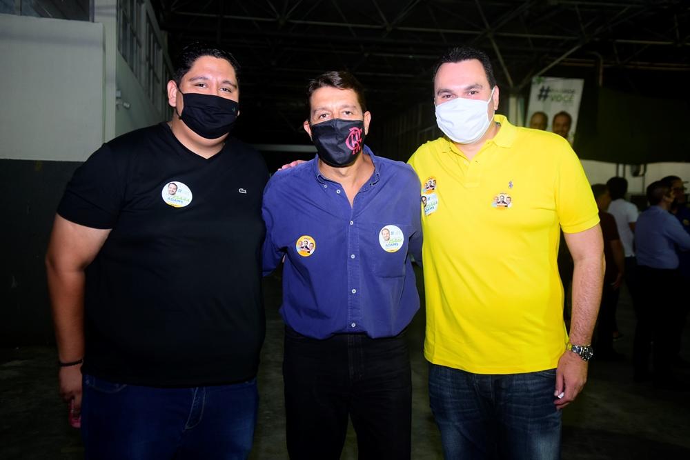 Diego Gomes, Gony Arruda E Régis Tavares