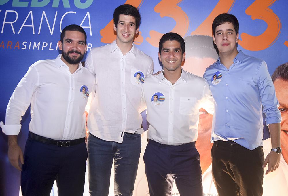 Diego Queiroz, Leonardo Marinho, Pedro França E João Roberto