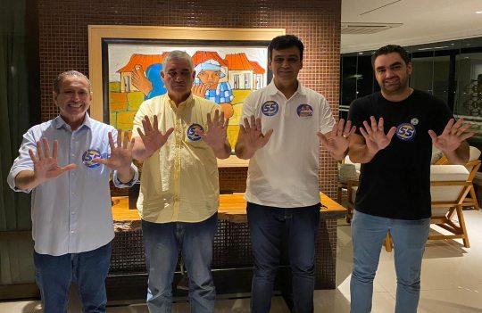 Domingos Filho renova a aliança entre Naumi Amorim e Zé Gerardo Arruda