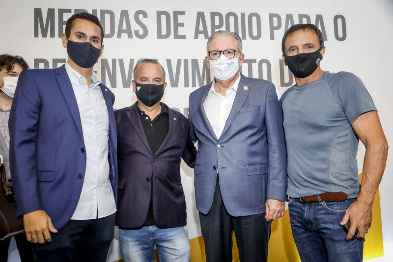 Domingos Neto, Rogerio Marinho, Ricardo Cavalcante E Marcio Bita (1)