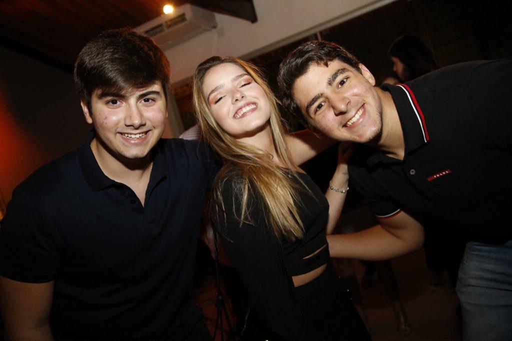 Dudu Brigido, Giovana Bezerra E Joao Victor Moreira