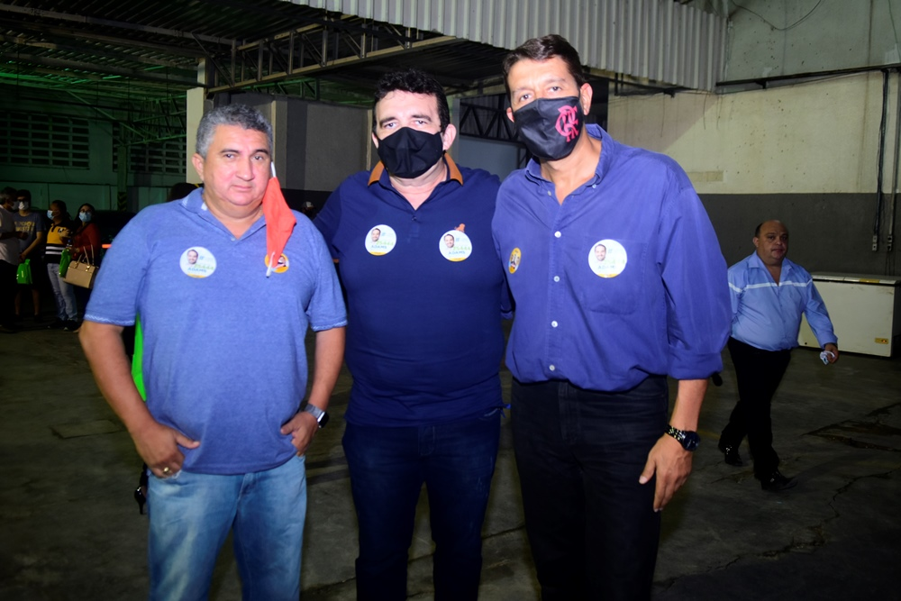 Ediberto Marçal, Garcez Neto E Gony Arruda