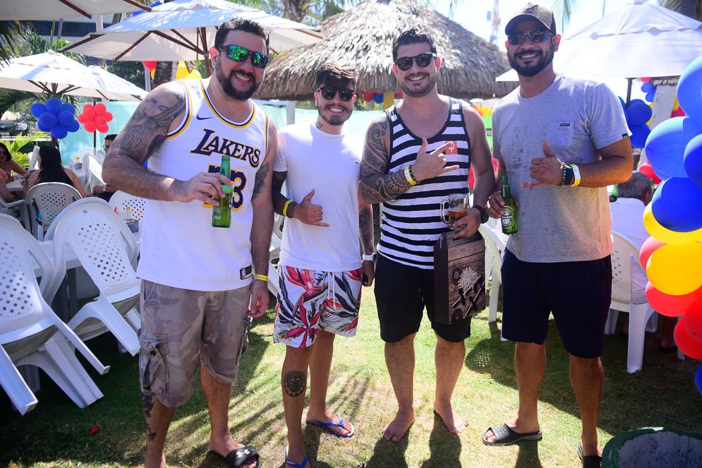 Eduardo Fernandes, André Da Silva, Eric Moreira E Flavio Cunha
