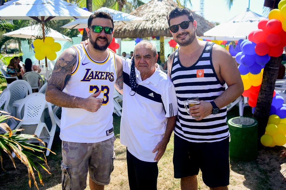 Eduardo Fernandes, Assis Fonseca E Eric Moreira