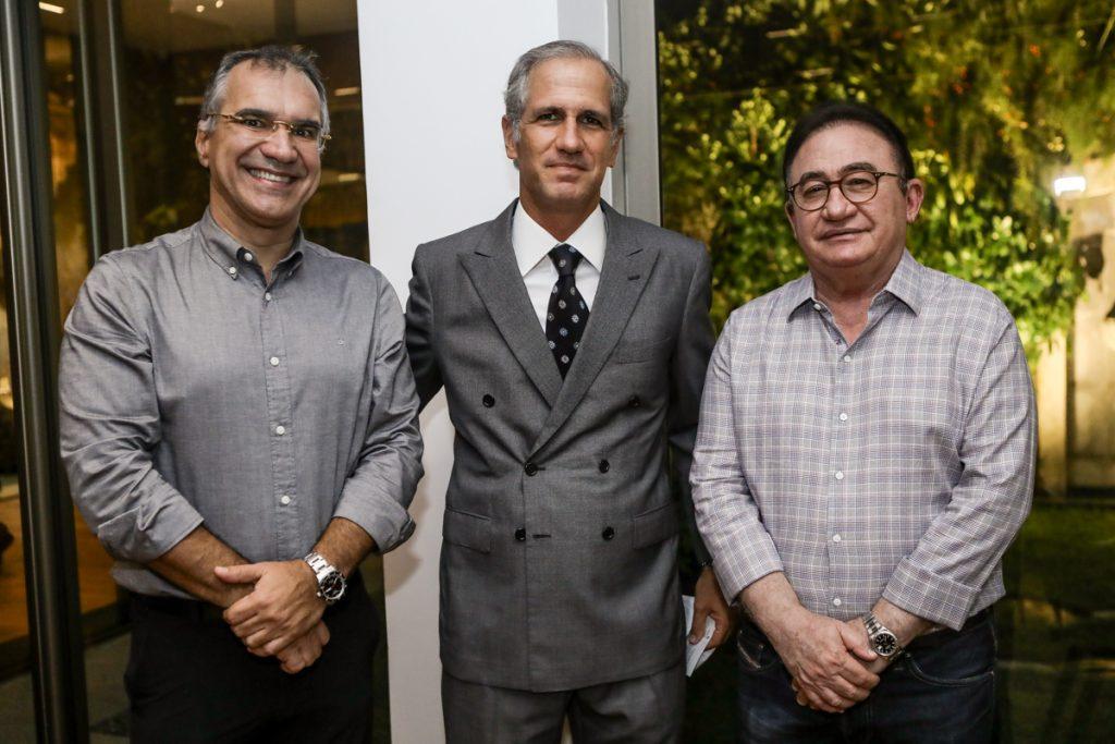 Eduardo Neves, Andre Bichucher E Manoel Linhares (1)