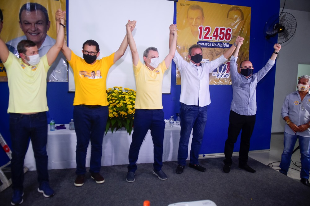 Elcio Batista, Dr. Elpídio, Sarto Nogueira, André Figueiredo E Sérgio Aguiar (3)