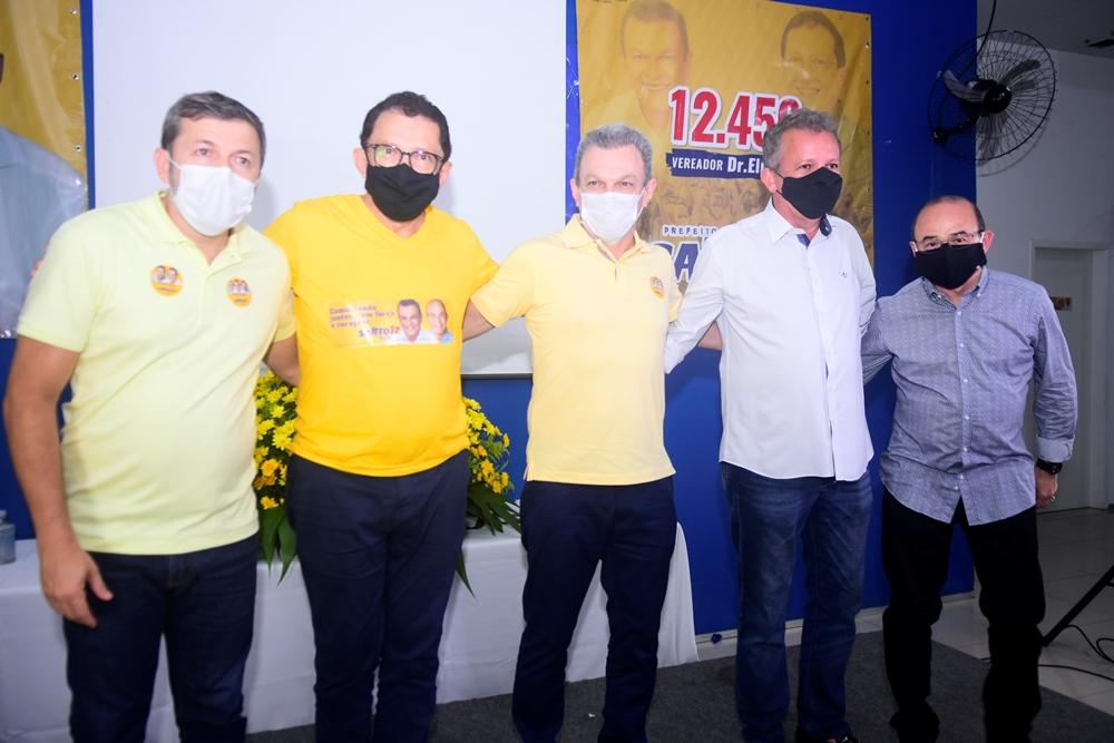 Elcio Batista, Dr. Elpídio, Sarto Nogueira, André Figueiredo E Sérgio Aguiar (4)