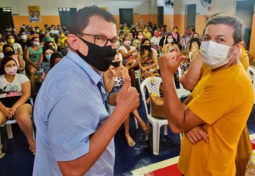 Elpídio Nogueira e Élcio Batista debatem os avanços da educação em Fortaleza