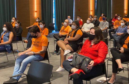 Márcio Vaz ministra palestra motivacional para a equipe da BSPAR Incorporações