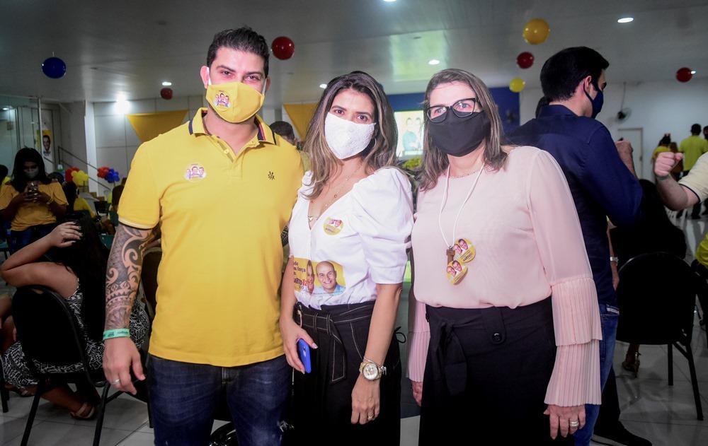 Eric Moreira, Vanessa Gomes E Franciana Rolim