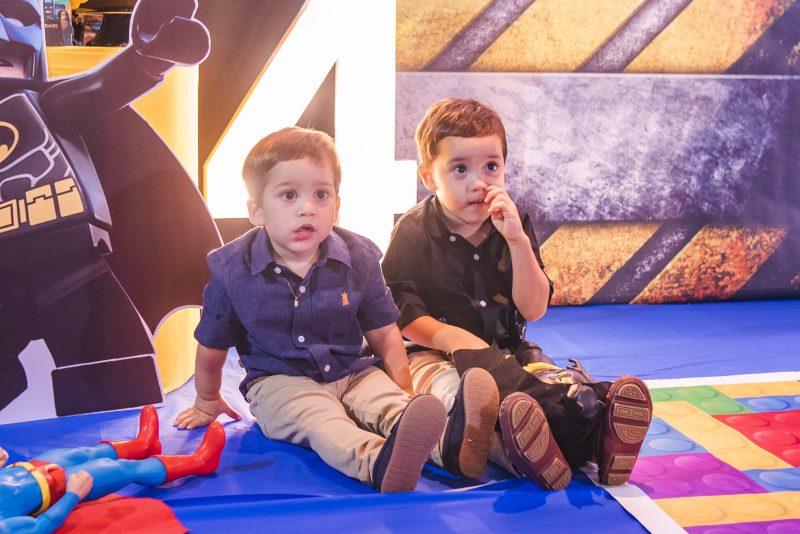 RÁ-TIM-BUM - Comemoração em dose dupla marca a nova idade dos filhos de Bárbara e Eugênio Rabelo