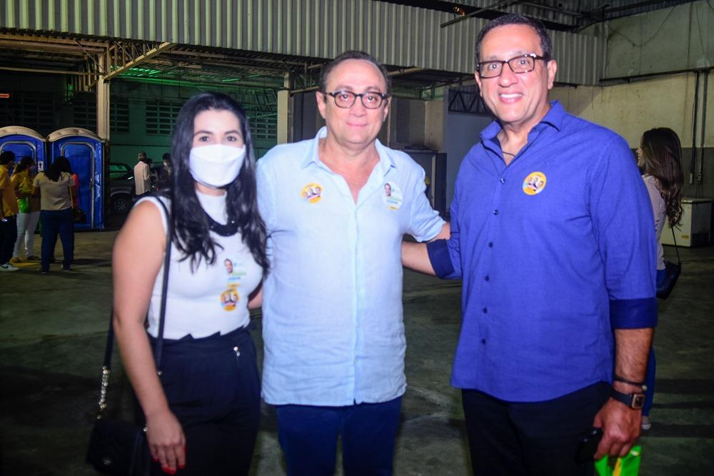 Eva Studart, Tin Gomes E Viana Junior