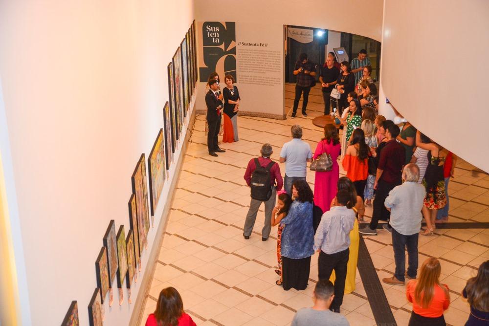 Exposição Arte por Artista cancela coquetel de abertura no Espaço Cultural Ana Amélia