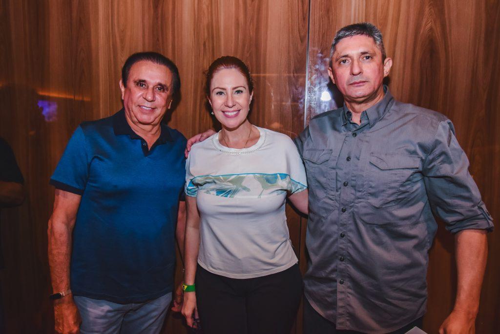 Gaudencio Lucena, Carla Zambelli E Aginaldo Oliveira