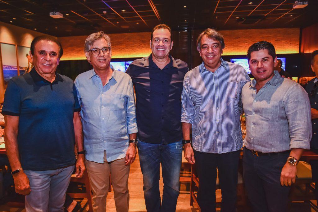 Gaudencio Lucena, Cid Alves, Ricardo Brandao, Carlos Lucena E Pompeu Vasconcelos