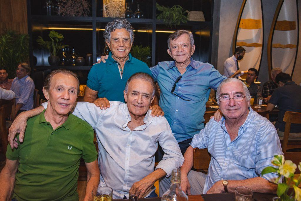 Gerardo Pontes, Edilmo Cunha, Assis Antero, Givaldo Sisnando E Murilo Belchior