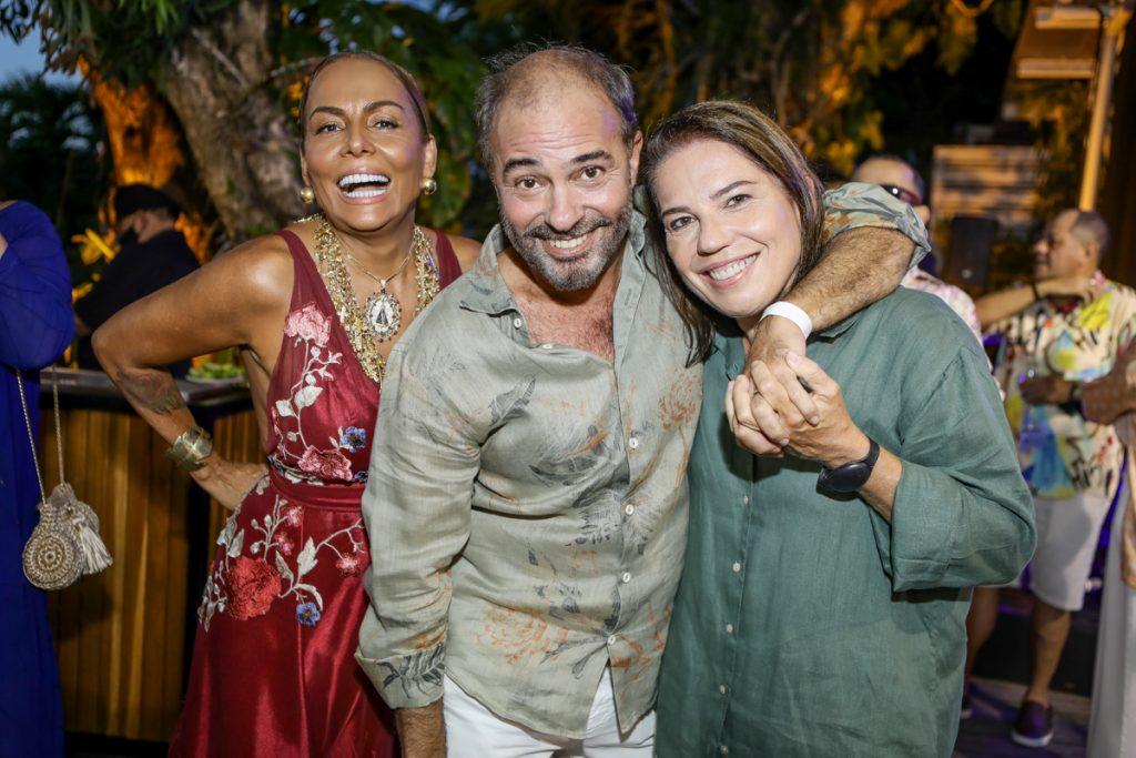 Gil Santos, Marcos Novais E Denise Bezerra