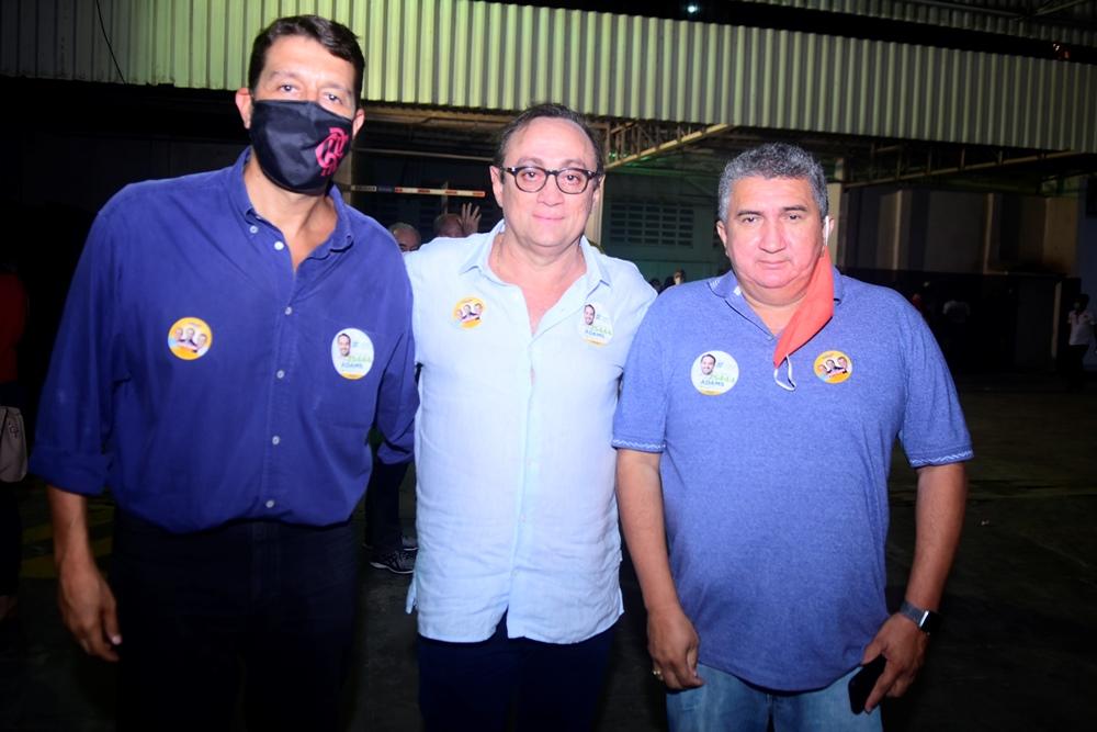 Gony Arruda, Tin Gomes E Ediberto Marçal