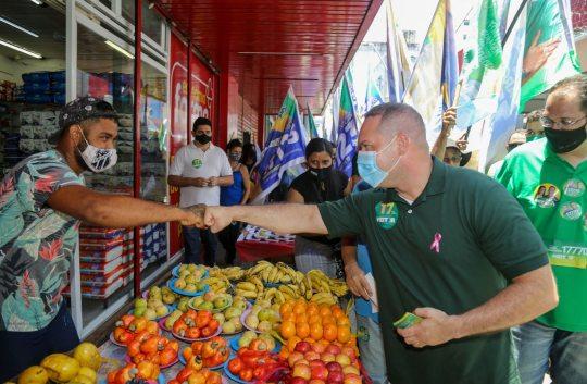 Heitor Freire afirma que pretende criar linha de microcrédito a empreendedores