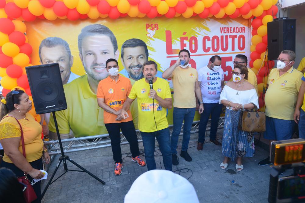 Inauguração Do Comitê Central De Léo Couto (2)